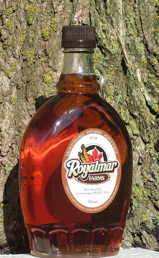 Maple Syrup 500 ml Glass Bottle