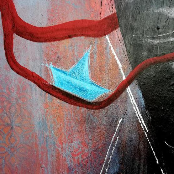 Arun, migrateur rêvant de la mer (détail)