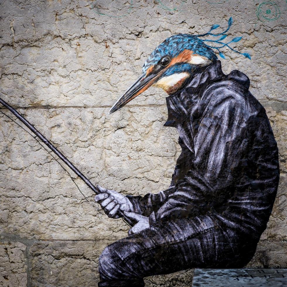 Martin, migrateur pêcheur (détail)