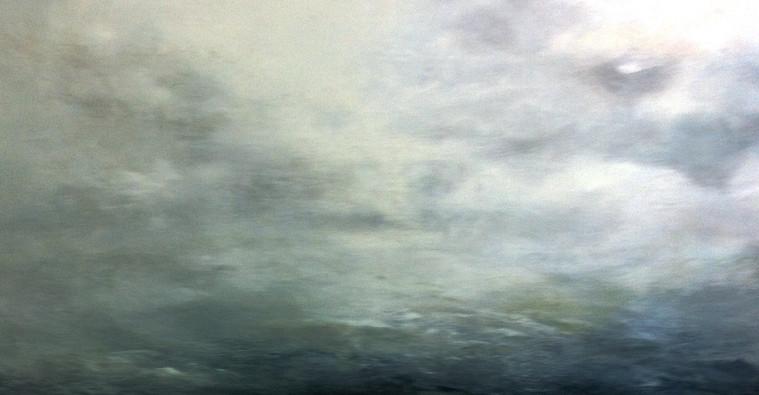 Distant Atlantic Storm