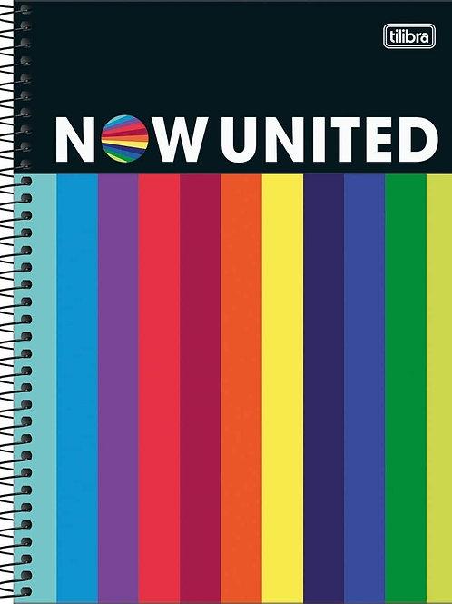 Caderno Universitário 10 Matérias NowUnited 160 folhas