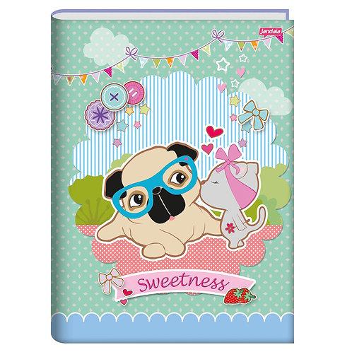 Caderno Brochurão 96 folhas Jandaia Sweetness