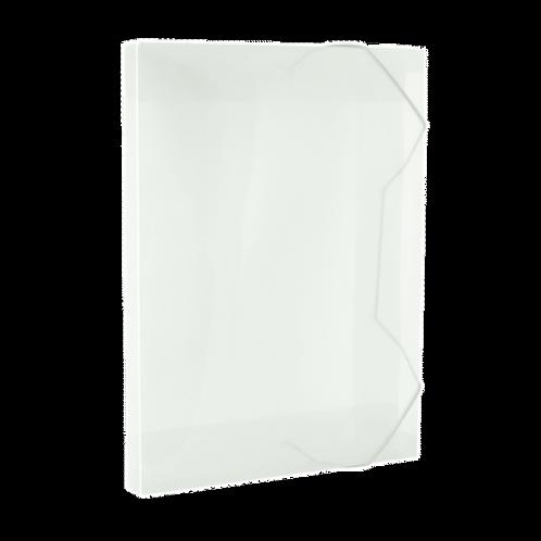 Pasta Plástica Pequena 2cm 183x245mm Várias Cores
