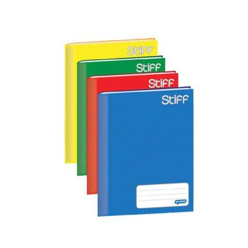 Caderno Brochurão Capa Dura 96 folhas Várias Cores
