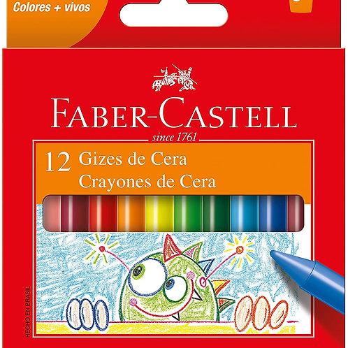 Giz de Cera Jumbo Faber-Castell