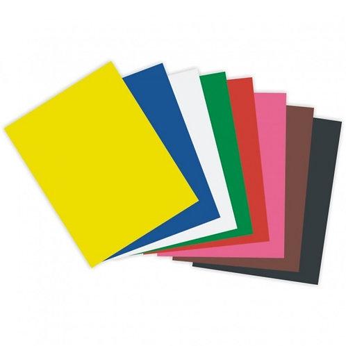 Papel Colorset Unidade Várias Cores
