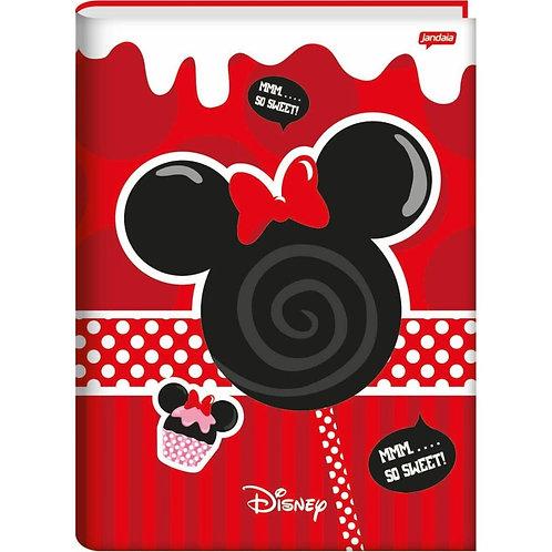 Caderno Brochurão Capa Dura 96 folhas Disney Jandaia