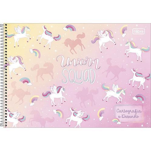 Caderno Cartografia/Desenho Capa Dura Blink Tilibra 80 folhas