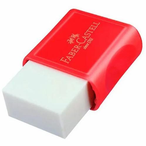Borracha Plástica Branca com Capa Faber-Castell