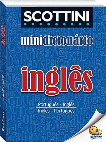 Dicionário  Mini Scottini Inglês