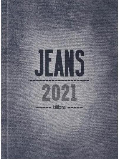 Agenda 2021 Tilibra Jeans