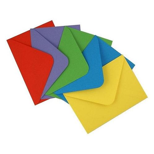 Envelope de Carta Colorido 7x10 Várias Cores