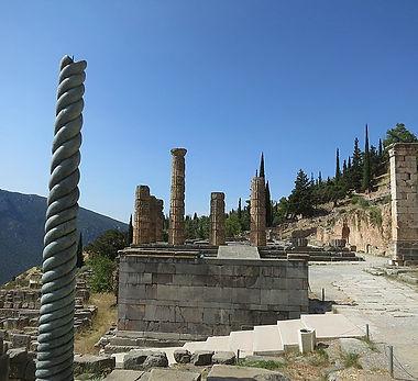 Delphi Serpent Column