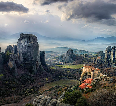 Meteora Land Scape