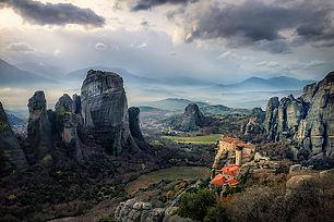 Landscape of Meteora