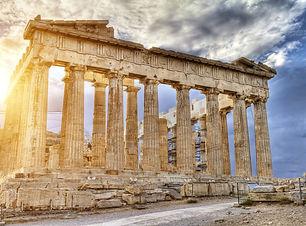 The Parthenon of Acropolis