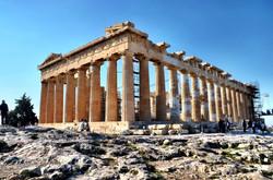 El Partenón de la Acrópolis