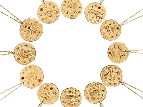 Collar signo del zodiaco