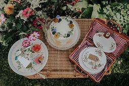 Huren van een ceremoniekit en diner kit voor een intiem huwelijk