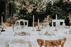 Huur diner kit huwelijk of feesttafel
