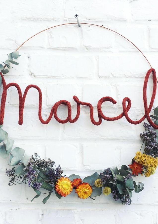 Geboortekrans - Marcel