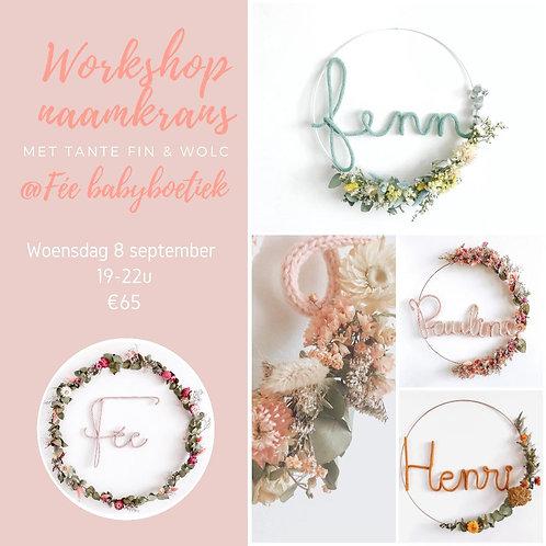 Workshop Naamkrans