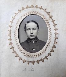 1.  Albert Grinnell Day, school photo