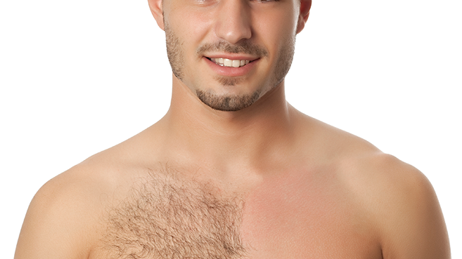 Chest Wax male
