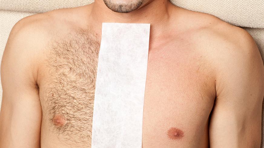 Stomach Wax Male