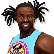 Kofi Kingston WWE Mayhem Games Android i