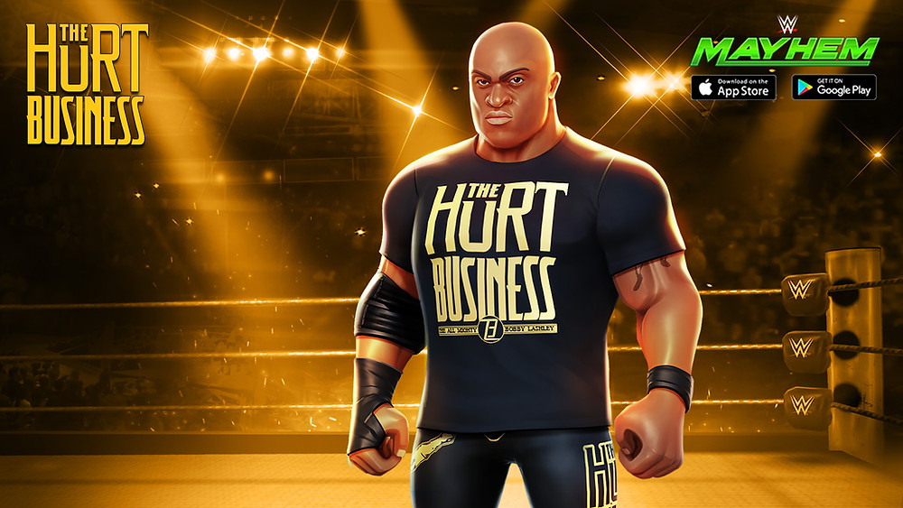 WWE Mayhem Bobby Lashley Hurt Business