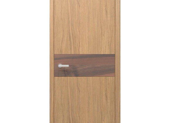 Interior Doors, Solid, Lammel, Oak, Model TY5 GD3