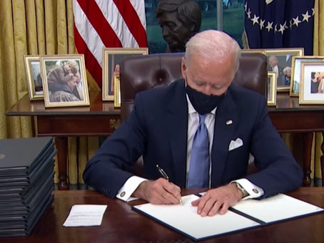 Advocates applaud President Biden's first-day executive orders