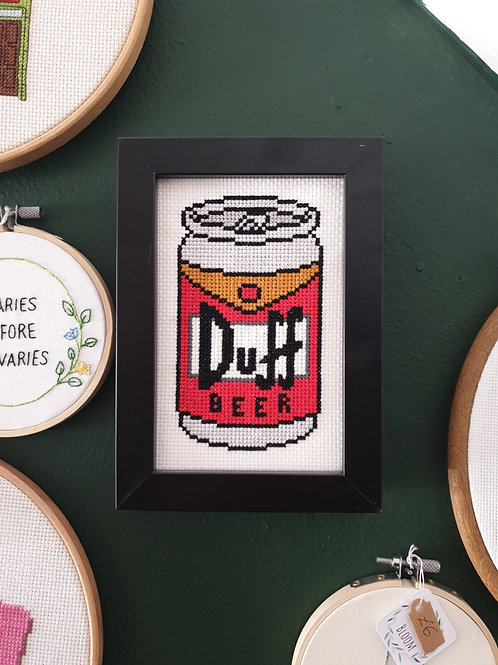 Duff beer by Stitchedbyabi
