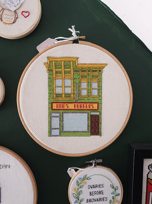 Bobs burgers green by Stitchedbyabi