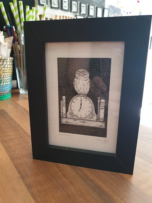 Owl o'clock by Jennywrendraws