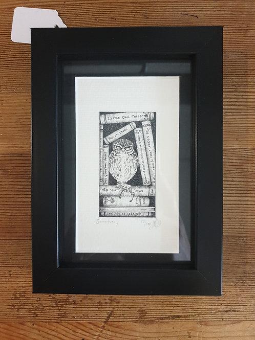 """Sanctuary by Jenny Wren Draws 5x7"""""""