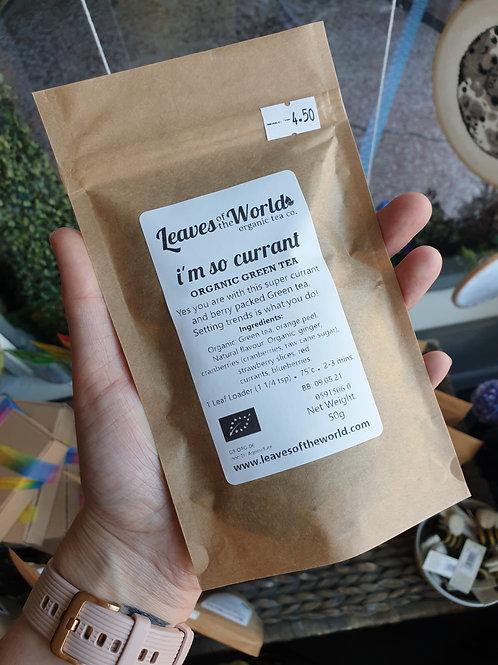 Leaves of the World I'm so currant loose leaf tea