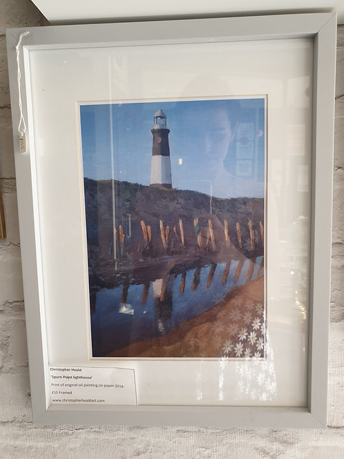 Spurn Point Lighthouse by Christopher Heald