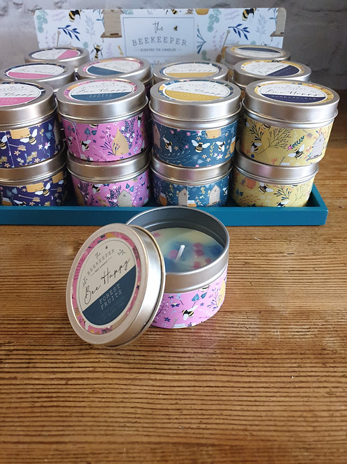 Forest fruits beekeeper scented candle