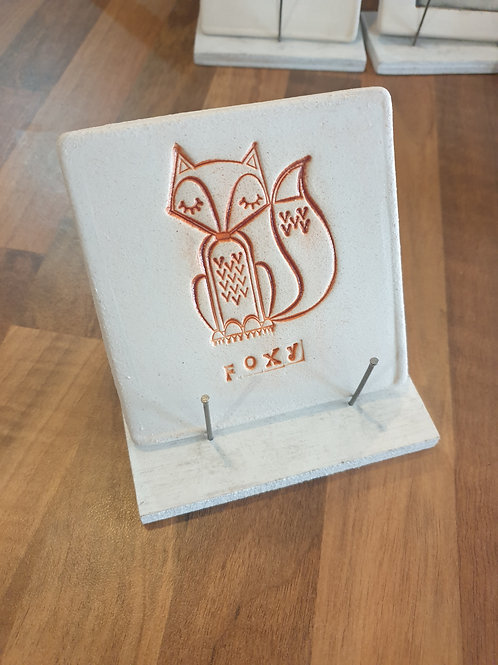 Foxy coaster by Fwootpot Ceramics