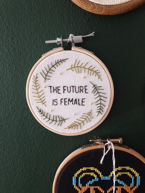 Female Future by Stitchedbyabi