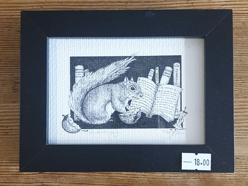 "Murder Mystery by Jenny Wren Draws 6x5"""