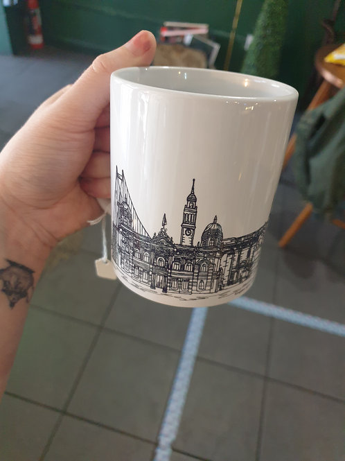 Hull landscapes Mug by Tina Leahey