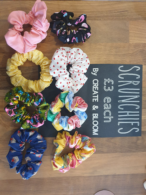 Liberty fabric Scrunchie by Create & Bloom