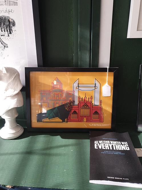 Mustard landmarks by Zoe Coterill