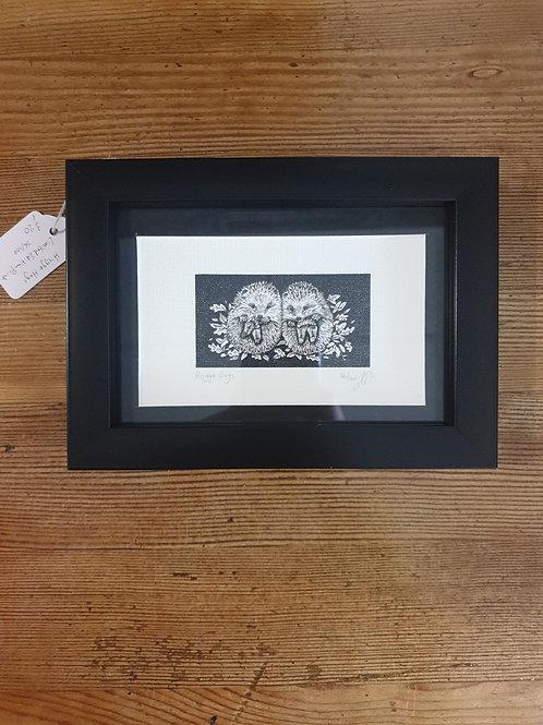 "Hygge Hogs by Jenny Wren Draws 5x7"""