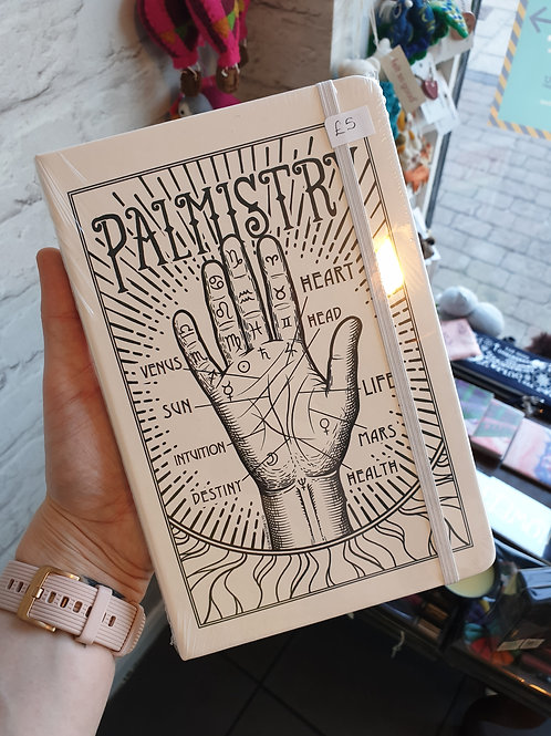 Palmistry a5 notebook
