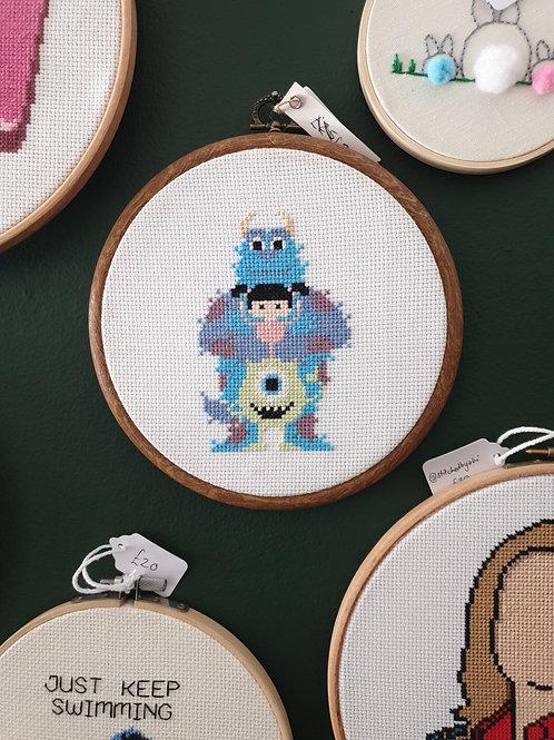 Monsters Inc by Stitchedbyabi