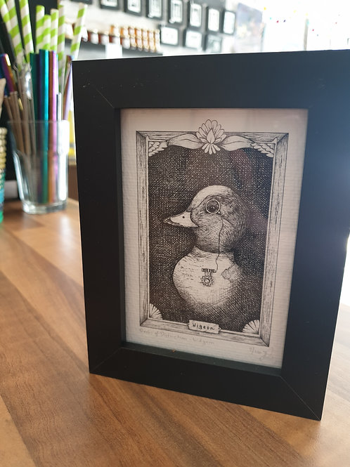Ducks of Distinction by Jennywrendraws